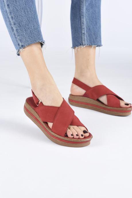 Sandales et nu-pieds Think! Zega 86388 Noir vue bas / vue portée sac