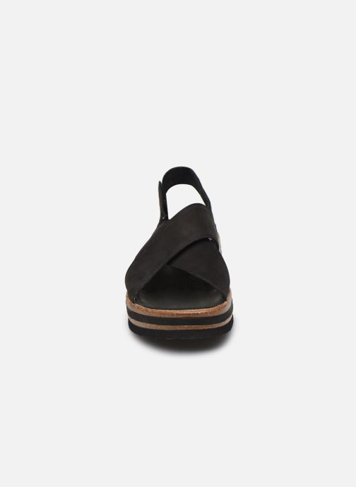 Sandales et nu-pieds Think! Zega 86388 Noir vue portées chaussures