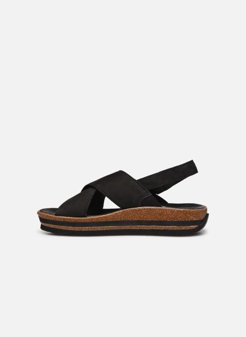 Sandales et nu-pieds Think! Zega 86388 Noir vue face