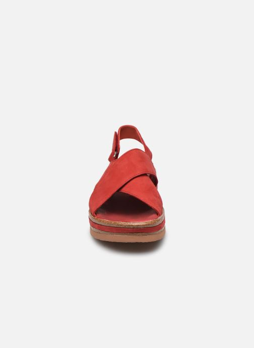 Sandales et nu-pieds Think! Zega 86388 Rouge vue portées chaussures