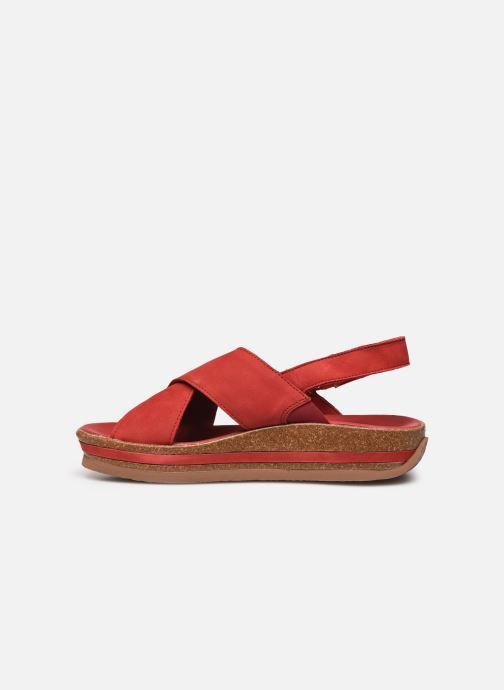 Sandales et nu-pieds Think! Zega 86388 Rouge vue face