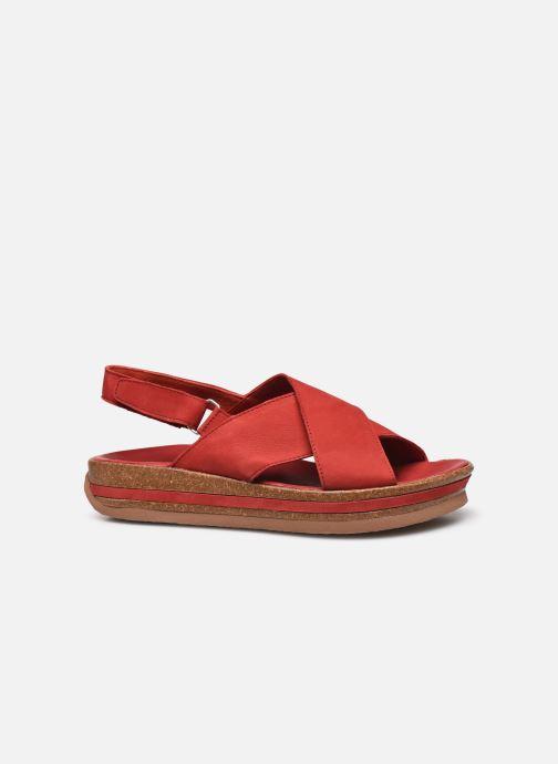Sandales et nu-pieds Think! Zega 86388 Rouge vue derrière
