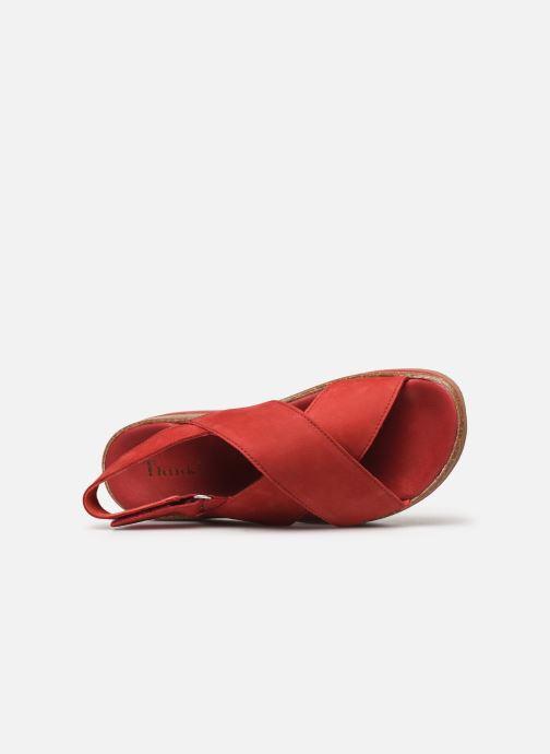 Sandales et nu-pieds Think! Zega 86388 Rouge vue gauche