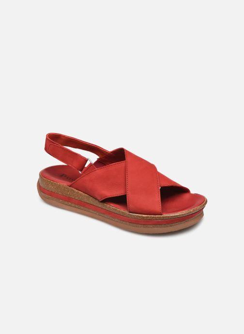 Sandales et nu-pieds Think! Zega 86388 Rouge vue détail/paire