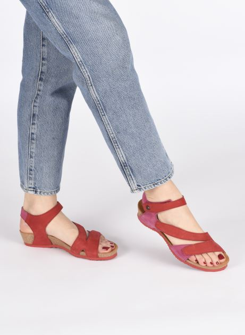 Sandales et nu-pieds Think! Dumia 86371 Rouge vue bas / vue portée sac