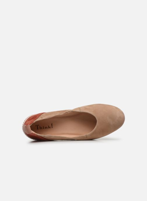 Ballerines Think! Cugal 86210 Beige vue gauche