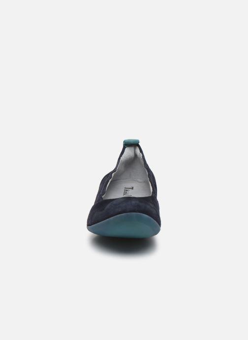 Ballerines Think! Cugal 86210 Bleu vue portées chaussures