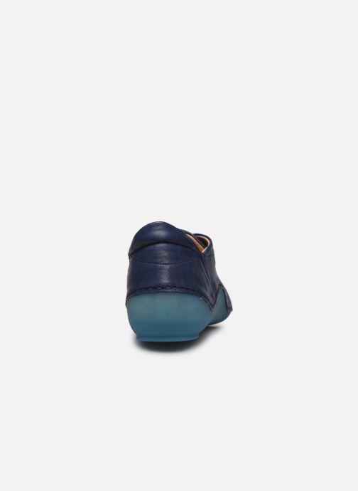 Baskets Think! Kapsl 86062 Bleu vue droite