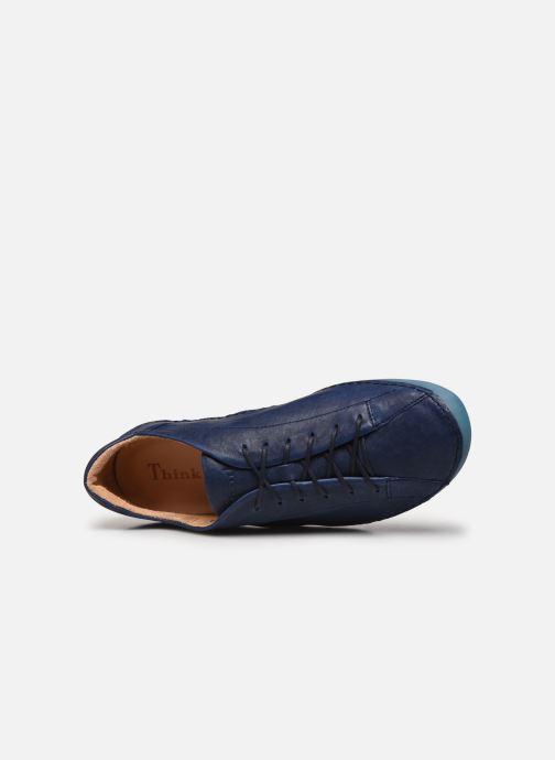Baskets Think! Kapsl 86062 Bleu vue gauche