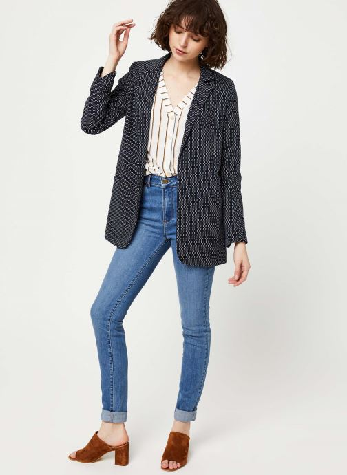 Vêtements I.Code Top QQ11034 Blanc vue bas / vue portée sac