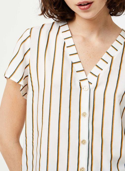 Vêtements I.Code Top QQ11034 Blanc vue face