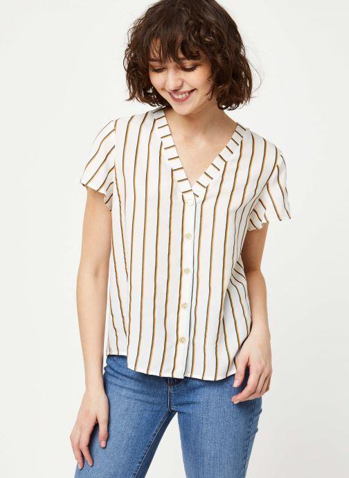 Vêtements I.Code Top QQ11034 Blanc vue droite