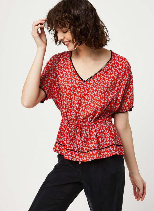 Vêtements I.Code Top QQ11174 Rouge vue détail/paire