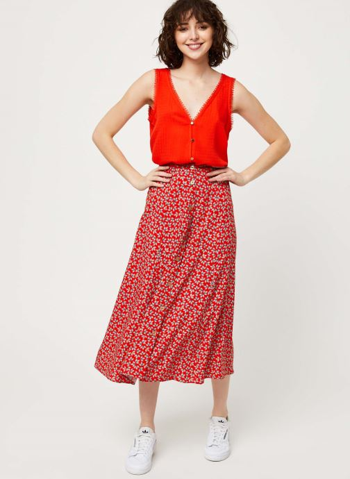 I.Code Top QQ11214 (Rouge) - Vêtements (420868)
