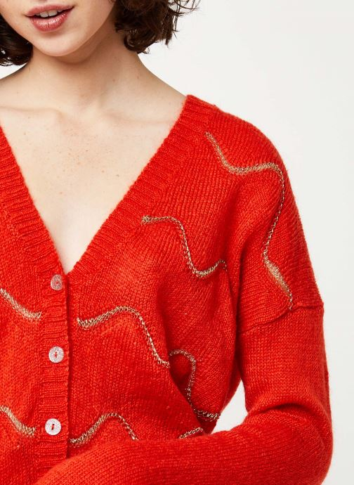 I.Code Gilet - Cardigan QQ17064 (Rouge) - Vêtements chez Sarenza (420887) 0mmor