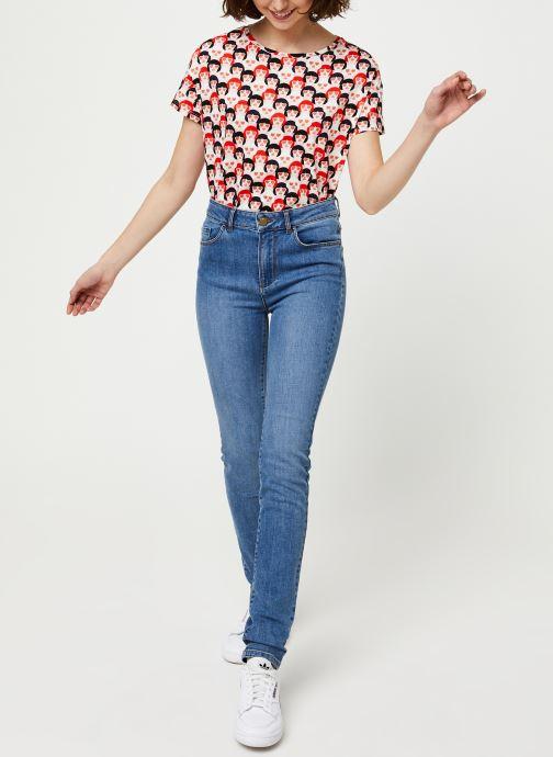 Vêtements I.Code Jeans QQ29054 Bleu vue bas / vue portée sac