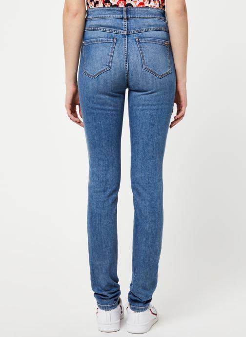 Vêtements I.Code Jeans QQ29054 Bleu vue portées chaussures