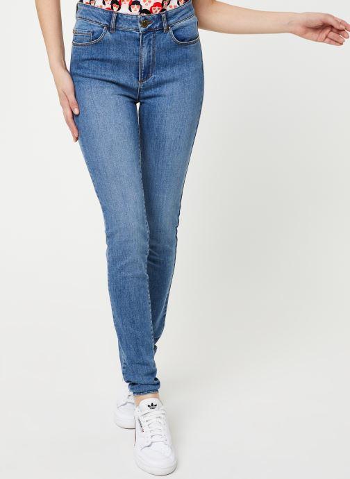 Kleding I.Code Jeans QQ29054 Blauw detail