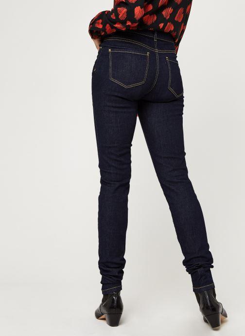 Vêtements I.Code Jeans QQ29034 Bleu vue portées chaussures