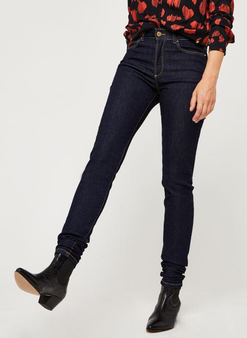 Vêtements I.Code Jeans QQ29034 Bleu vue détail/paire