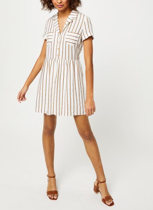 Vêtements I.Code Robe QQ30024 Blanc vue bas / vue portée sac