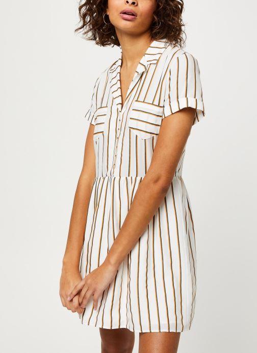Vêtements I.Code Robe QQ30024 Blanc vue détail/paire