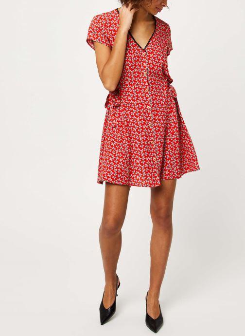 Vêtements I.Code Robe QQ30174 Rouge vue bas / vue portée sac