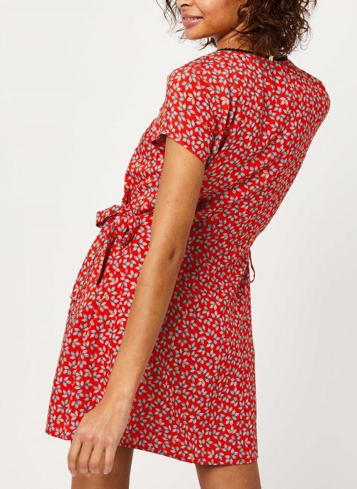 Vêtements I.Code Robe QQ30174 Rouge vue portées chaussures