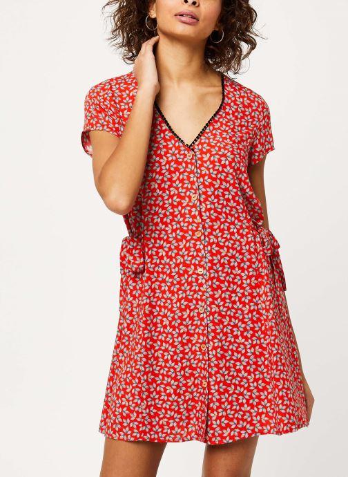 Vêtements I.Code Robe QQ30174 Rouge vue droite