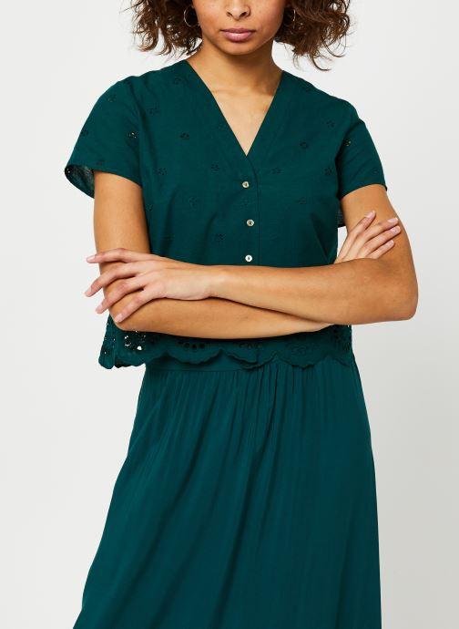 Vêtements I.Code Robe QQ30334 Vert vue droite