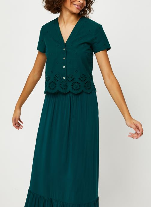 Vêtements I.Code Robe QQ30334 Vert vue détail/paire