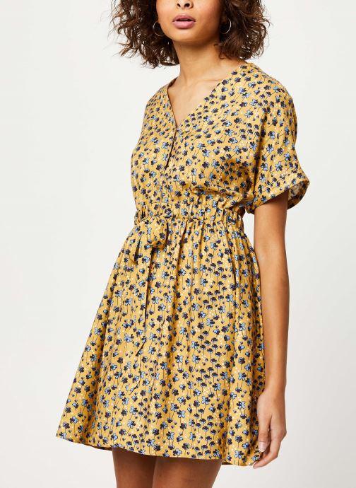 Vêtements I.Code Robe QQ30304 Jaune vue détail/paire