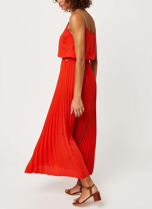 Vêtements I.Code Robe QQ31054 Orange vue portées chaussures