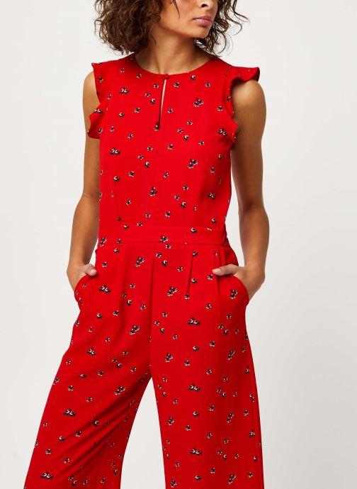 Vêtements I.Code Combinaison QQ32024 Rouge vue détail/paire
