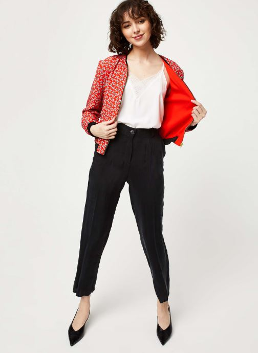 Vêtements I.Code Blouson QQ41034 Rouge vue bas / vue portée sac