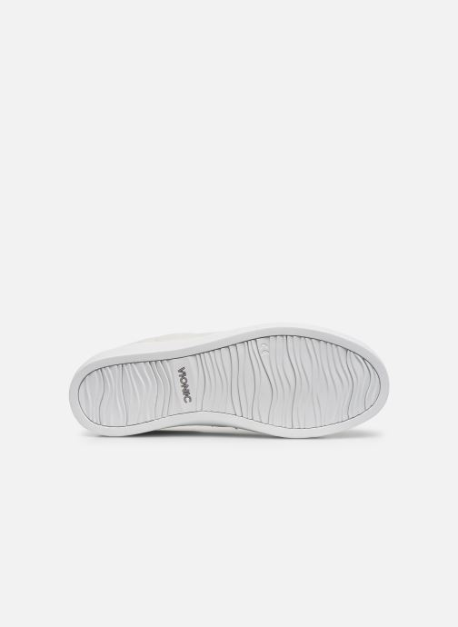 Baskets Vionic Honey Lthr Blanc vue haut