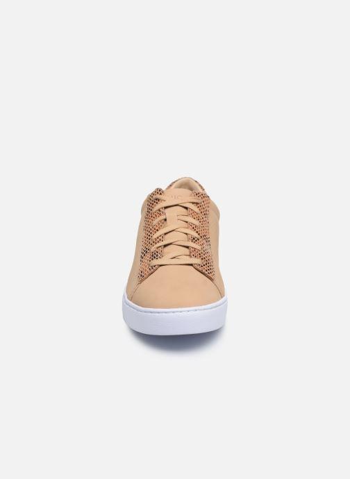 Baskets Vionic Honey Lthr Marron vue portées chaussures