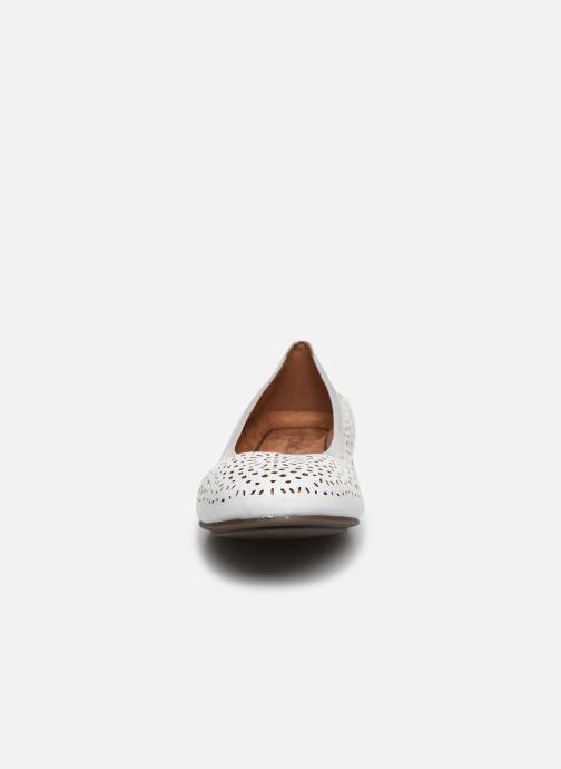 Ballerines Vionic Robyn Perf Npa Blanc vue portées chaussures