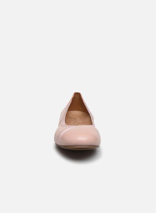 Ballerines Vionic Caroll Rose vue portées chaussures