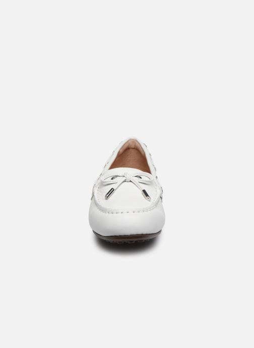 Mocassins Vionic Virginia Lthr Tmbl Blanc vue portées chaussures