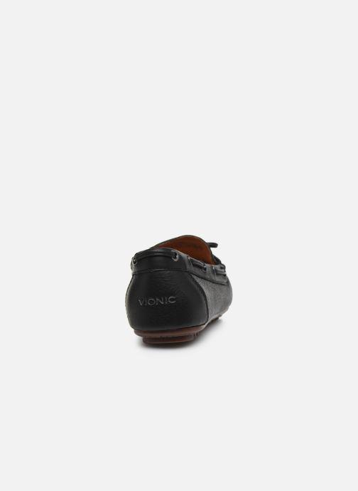 Mocassini Vionic Virginia Leather Nero immagine destra