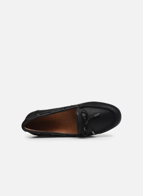 Mocassini Vionic Virginia Leather Nero immagine sinistra