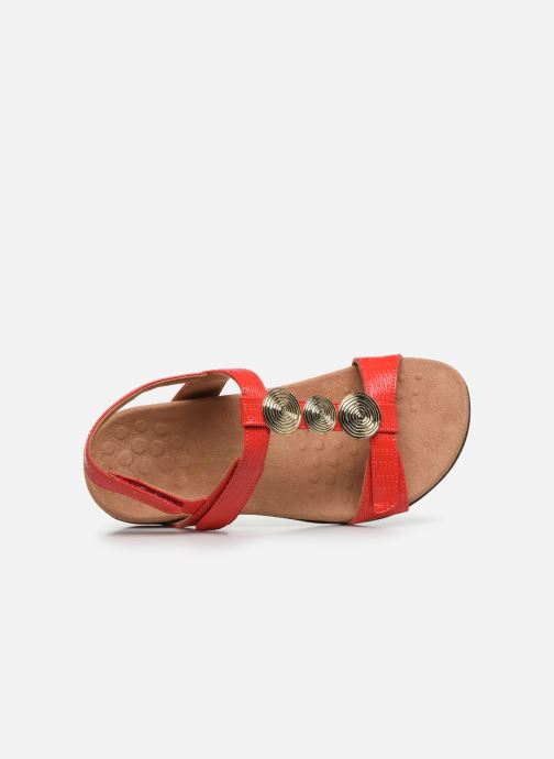 Sandales et nu-pieds Vionic Farra Ii Wvn Rouge vue gauche