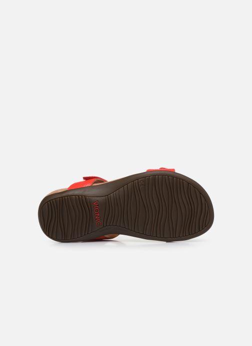 Sandales et nu-pieds Vionic Farra Ii Wvn Rouge vue haut