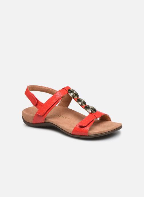 Sandales et nu-pieds Vionic Farra Ii Wvn Rouge vue détail/paire