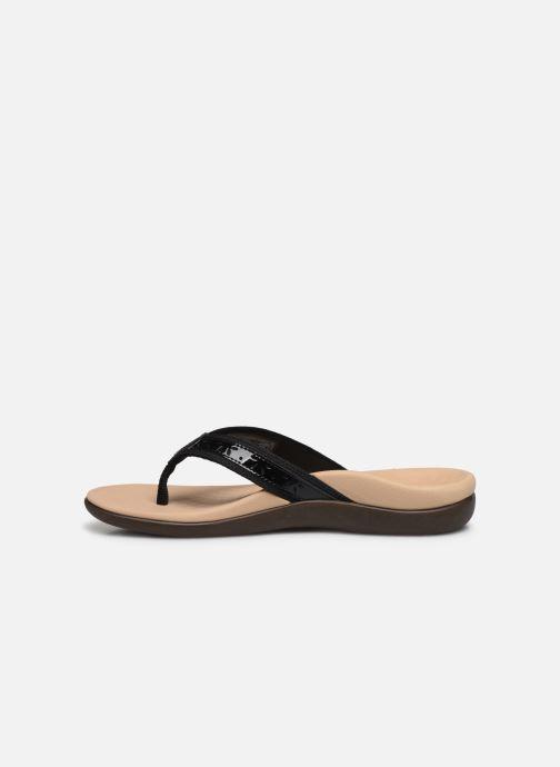 Vionic Casandra Lthr (Zwart) - Slippers  Zwart (Black) - schoenen online kopen