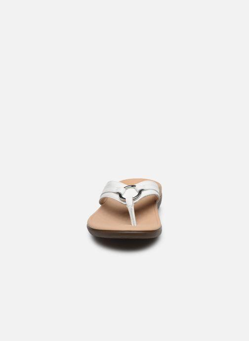 Tongs Vionic Aloe Smt Blanc vue portées chaussures