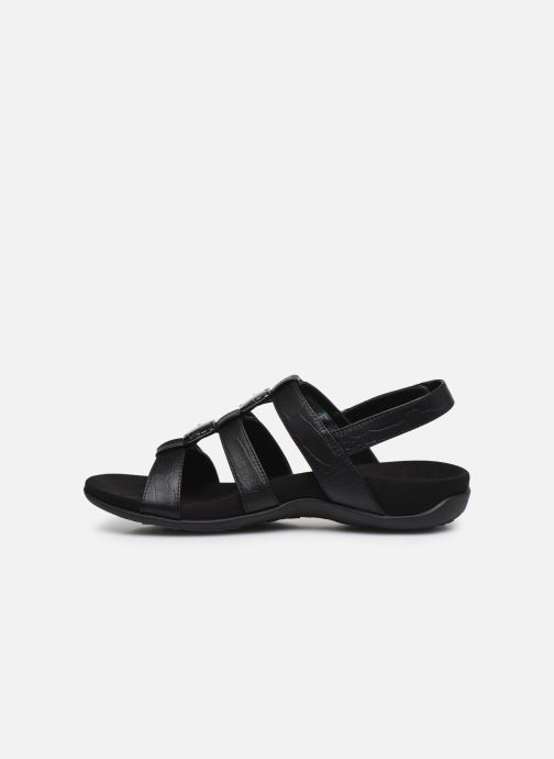 Sandales et nu-pieds Vionic Amber Noir vue face