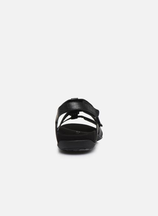 Sandales et nu-pieds Vionic Amber Noir vue droite