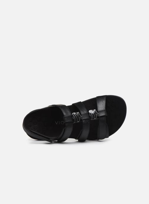Sandales et nu-pieds Vionic Amber Noir vue gauche